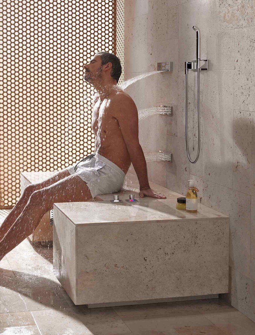Comfort Shower from Dornbracht lets you shower while sitting down (6)