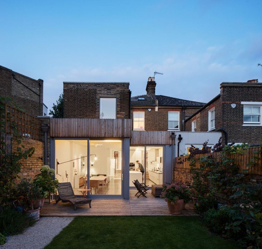 Complete refurbishment and extension of a Victorian semi-detached house (7) (Custom)