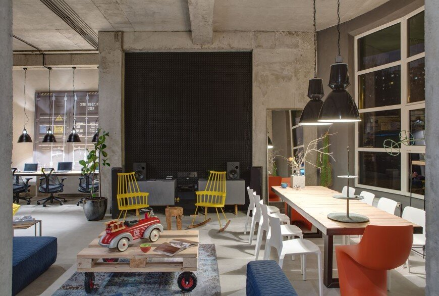 Dizaap office bright loft space with eclectic interior design (19)