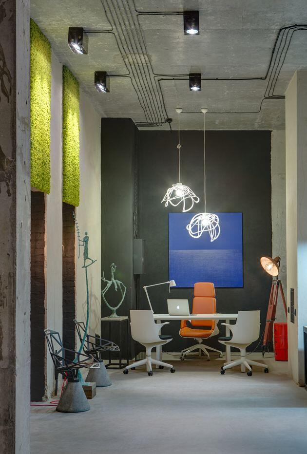 Dizaap offices bright loft space with eclectic interior design (5)