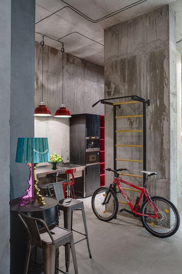 Dizaap offices bright loft space with eclectic interior design (6)