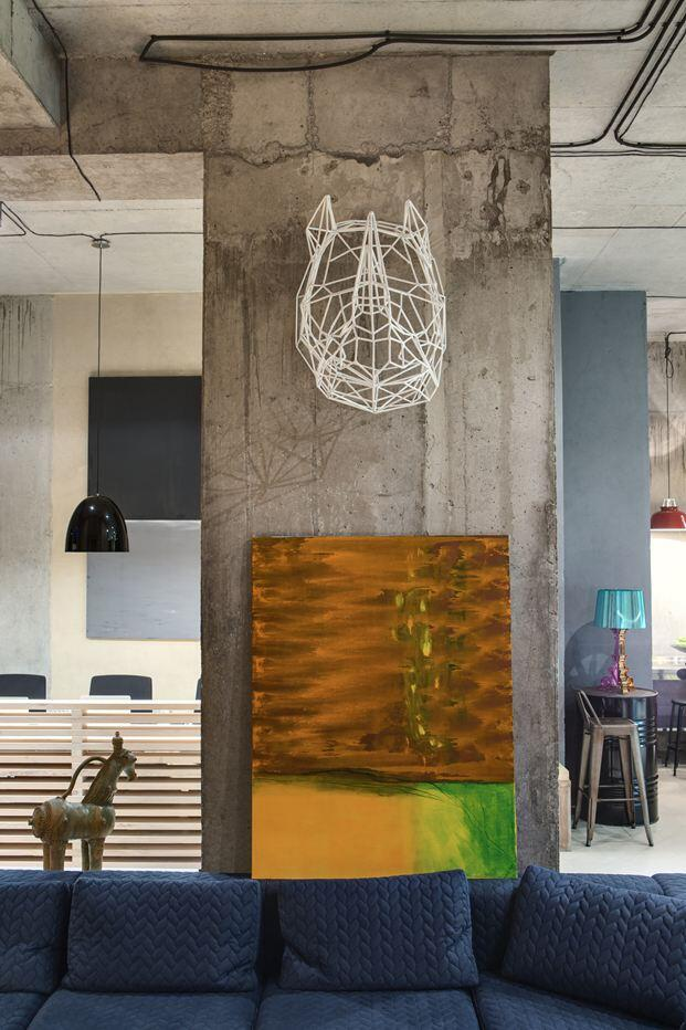Dizaap offices bright loft space with eclectic interior design (7)