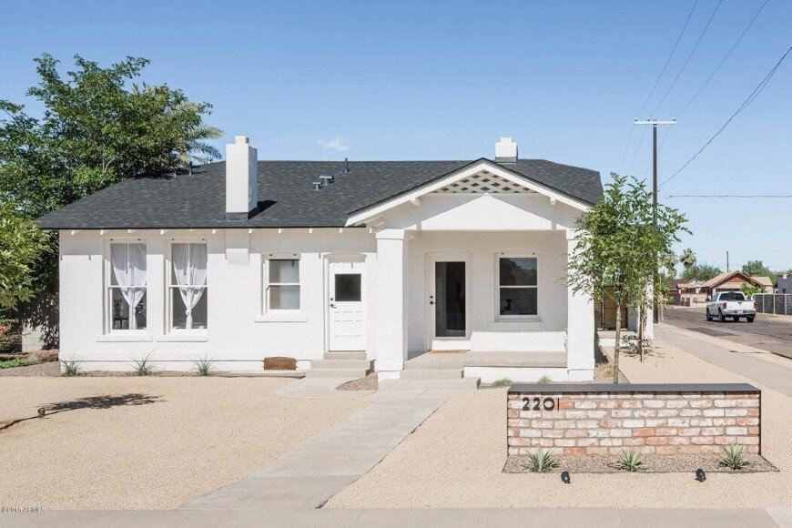 Duplex built in 1935 converted into a single family home (15)