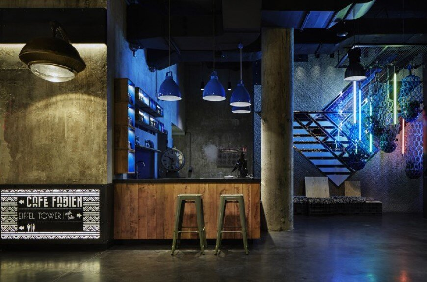 Generator Hostel Paris was conducted by Toronto-based DesignAgency Studio (4)