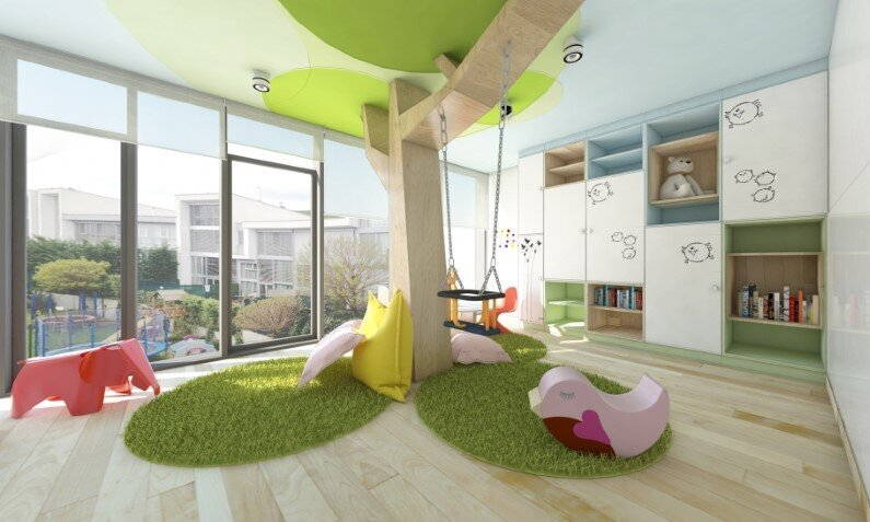 Kids room designed by Rules Architects with low budget (2)