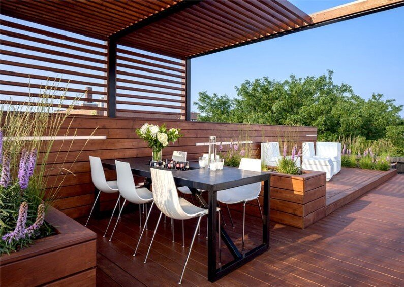 Rooftop retreat designed to showcase the Chicago skyline (5)