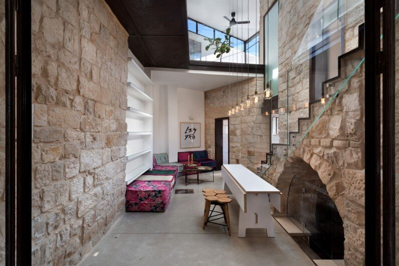 Stone House preservation and renewal of an old house in Israel (2)