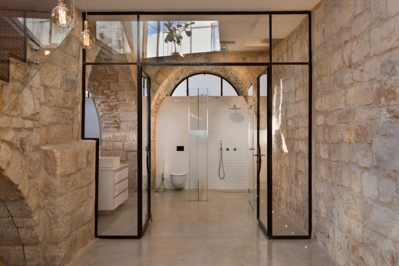 Stone House preservation and renewal of an old house in Israel (5)