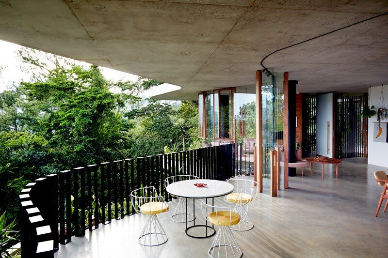 Tropical home nestled amongst treetops in Queensland - Jesse Bennett and Anne-Marie Campagnolo (1)