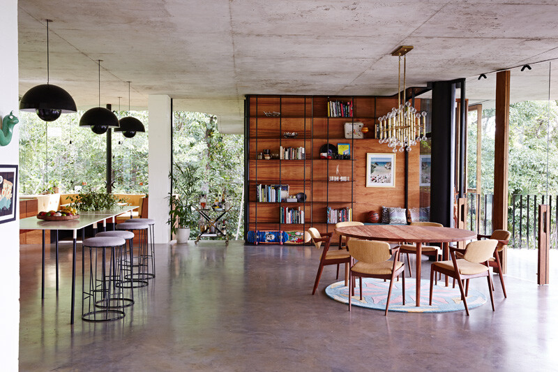 Tropical home nestled amongst treetops in Queensland - Jesse Bennett and Anne-Marie Campagnolo (3)