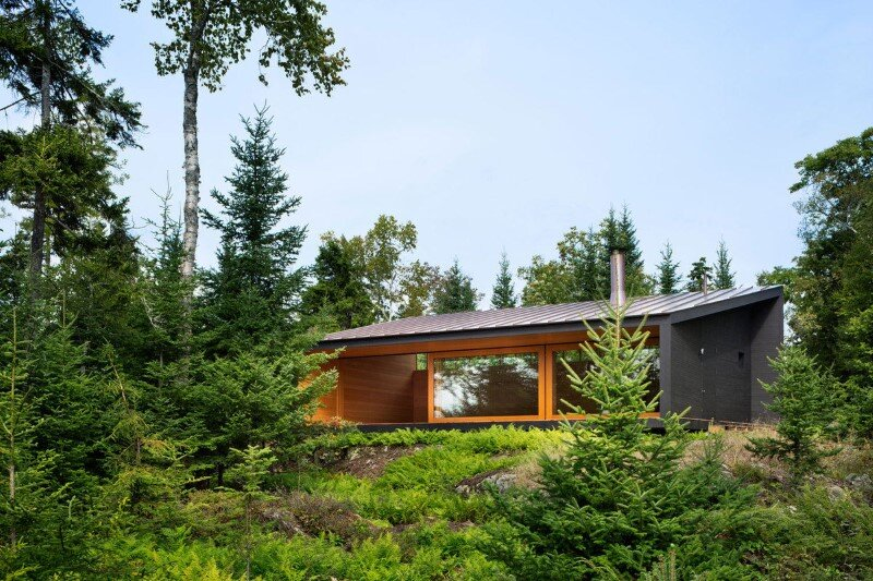 A house, boathouse, and studio structure by Andrew Berman Architect (15)