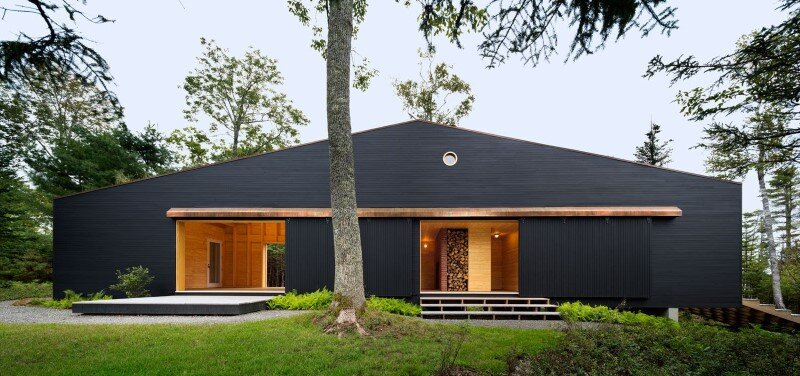 A house, boathouse, and studio structure by Andrew Berman Architect (17)