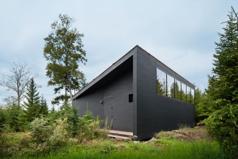 A house, boathouse, and studio structure by Andrew Berman Architect (19)