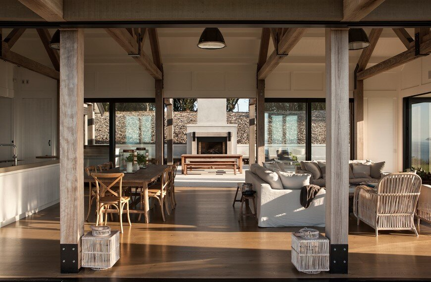 Bold architecture with maximum exposure to the views and seasonal rhythms - Owhanake Headland 5