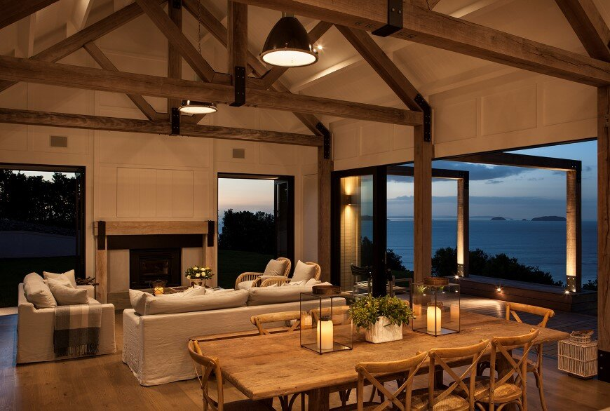 Bold architecture with maximum exposure to the views and seasonal rhythms - Owhanake Headland 6