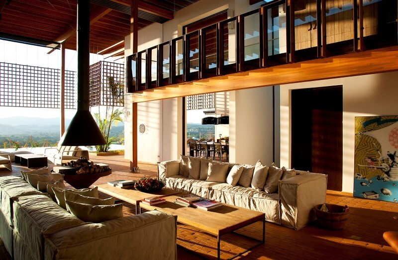 Brasil house with contemporary design placed in the Brazilian Atlantic Forest (13)