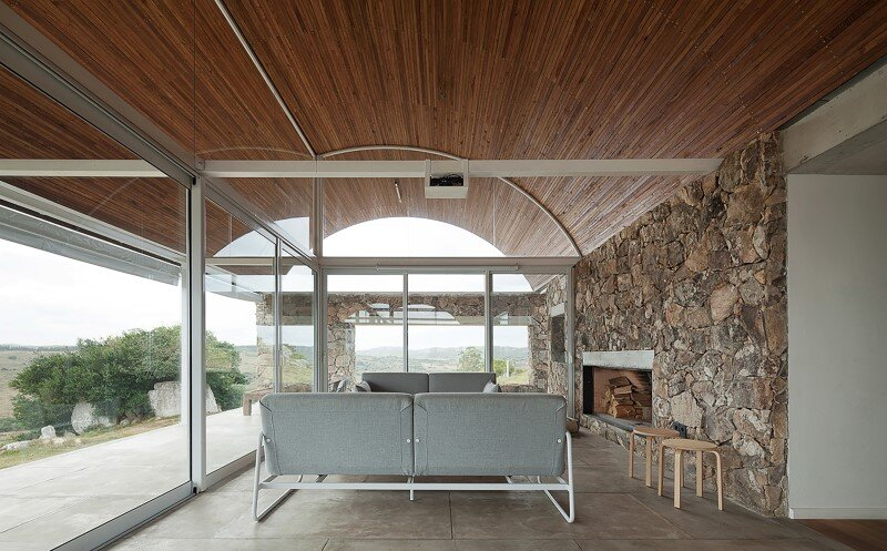 Calera del Rey House stone structure with a vaulted roof (8)