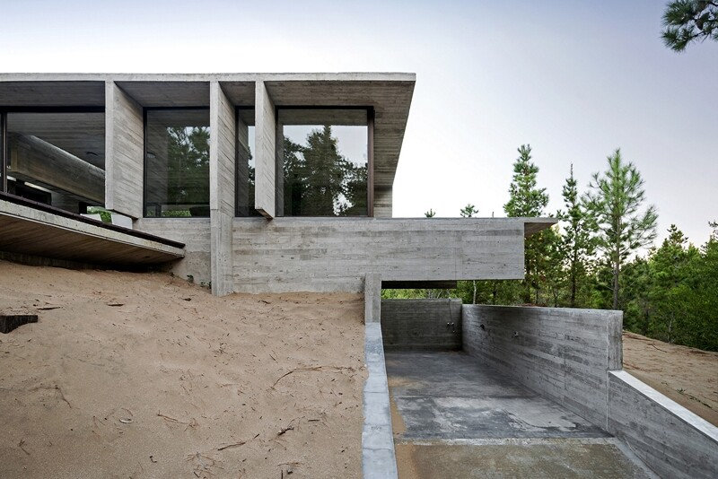 Concrete structure inspires confidence and durability Wein House (1)