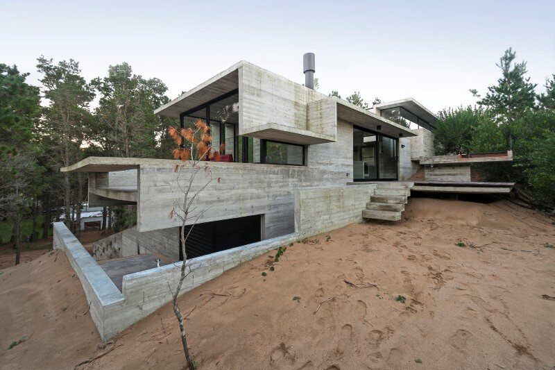 Concrete structure inspires confidence and durability Wein House (3)