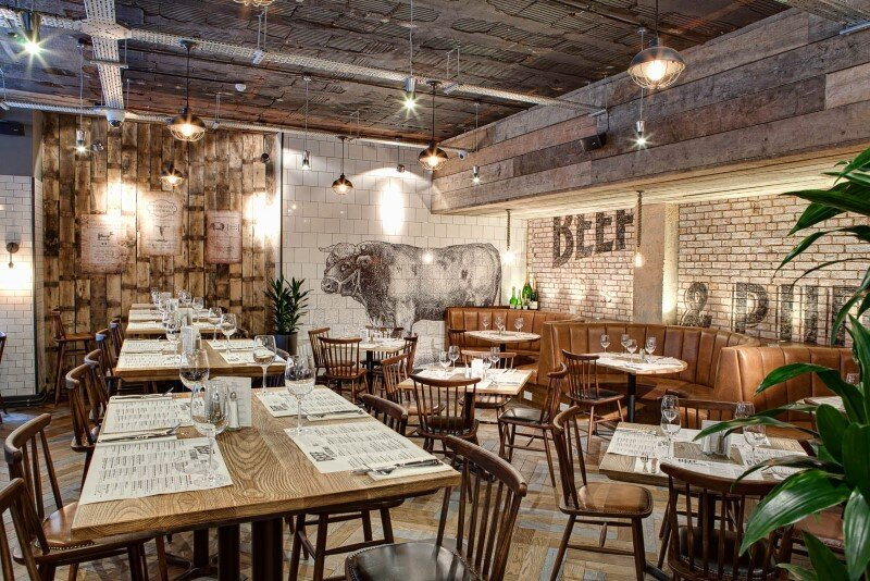 DV8 Designs has created a true rustic feel in Beef and Pudding restaurant (14)