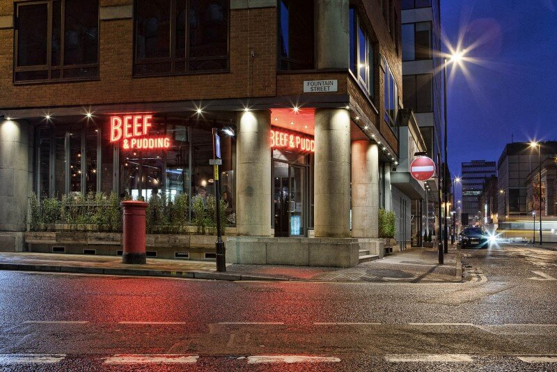 DV8 Designs has created a true rustic design in Beef and Pudding restaurant (6)