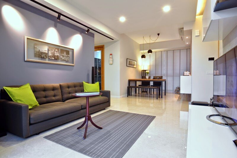 Dakota Crescent apartment earth tone, minimalist and clean design (5)