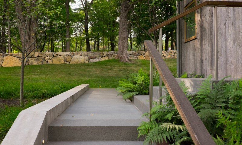 Davis Country House with high-end millwork and recycled timber finishes (1)