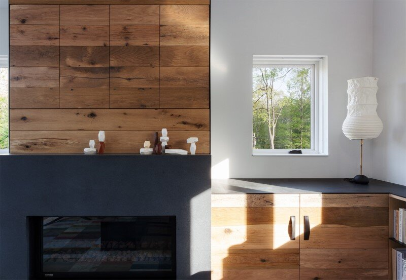 Davis Country House with high-end millwork and recycled timber finishes (14)