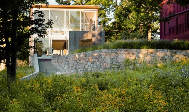 Davis Country House with high-end millwork and recycled timber finishes (2)