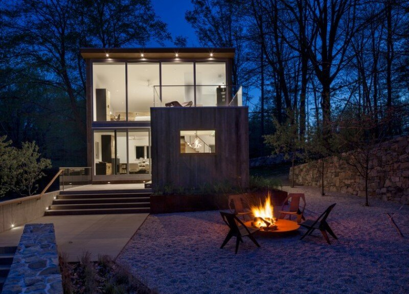 Davis Country House with high-end millwork and recycled timber finishes (7)