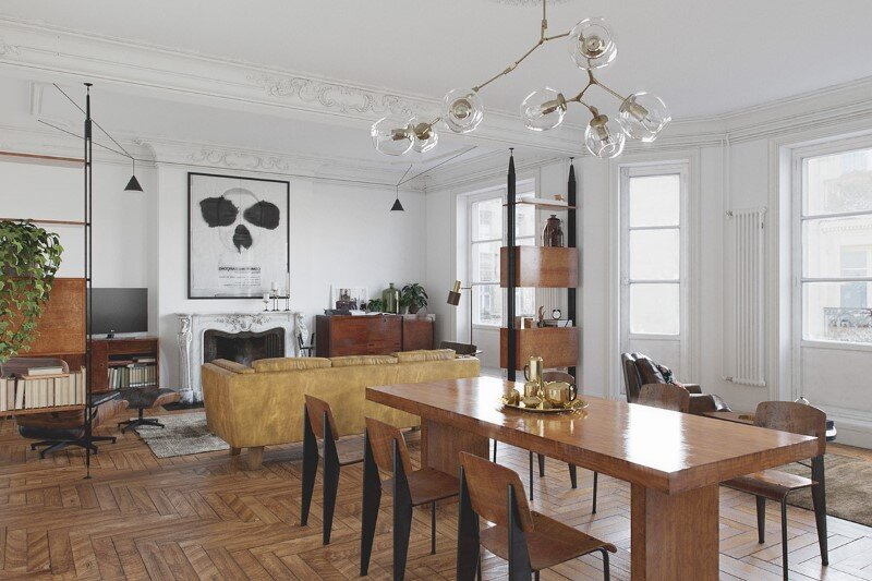 Eclectic interior design for an attractive and cozy home (4)