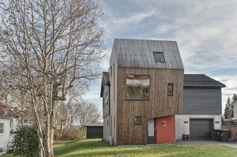 Extension of a single family house in Trondheim, Norway (1)