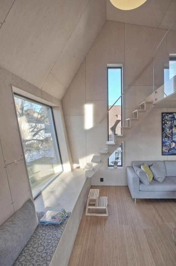 Extension of a single family house in Trondheim, Norway (10)