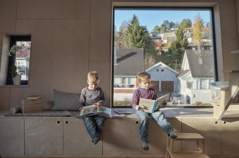 Extension of a single family house in Trondheim, Norway (2)