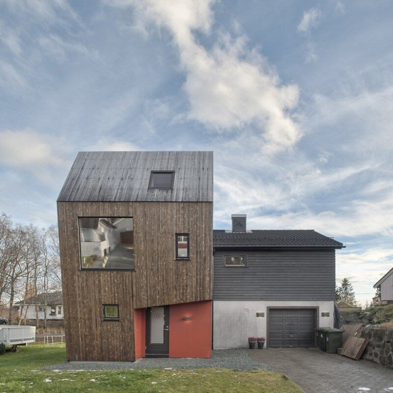 Extension of a single family house in Trondheim, Norway (6)