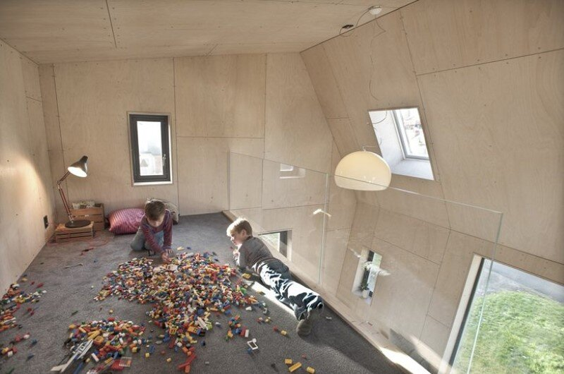Extension of a single family house in Trondheim, Norway (7)