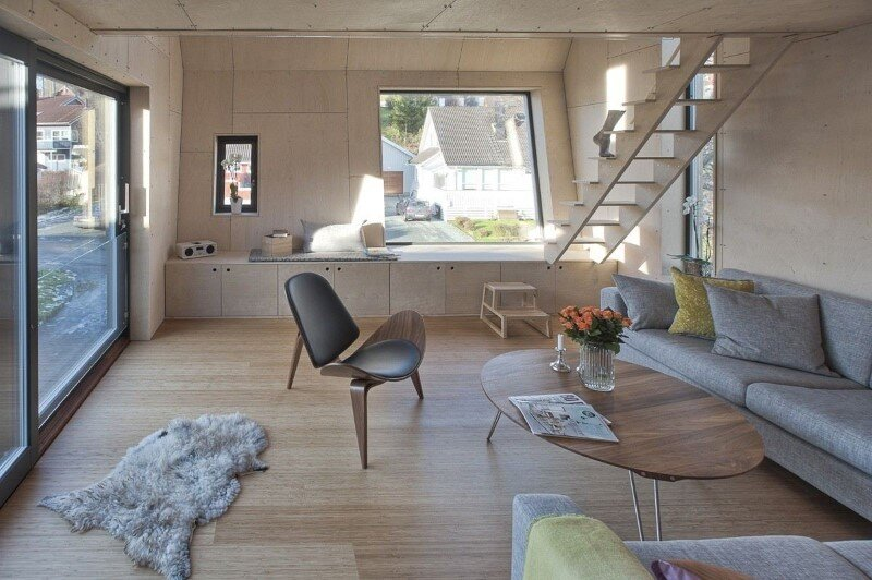 Extension of a single family house in Trondheim, Norway (8)