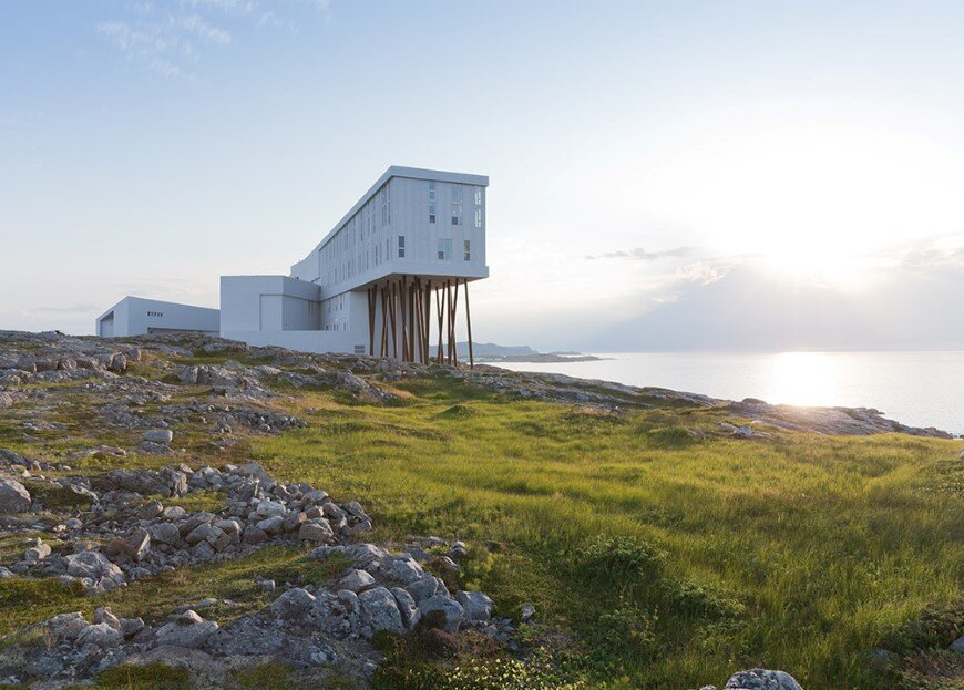 Fogo Island Inn by a timeless piece of architecture by Saunders (6)
