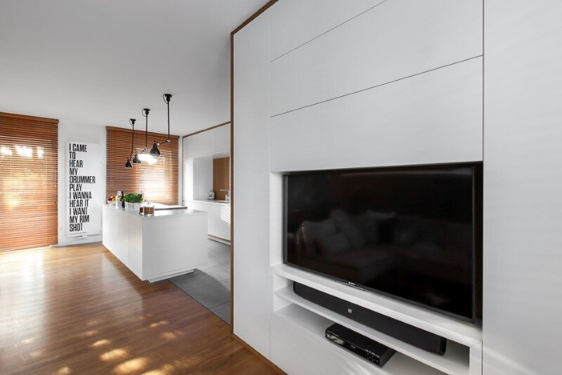 Friendly house with a lounge and kitchen open space (3) D79 House