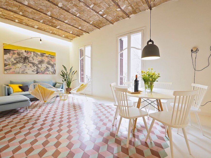 Fully renovated holiday apartment in Barcelona Tyche Apartment (1)