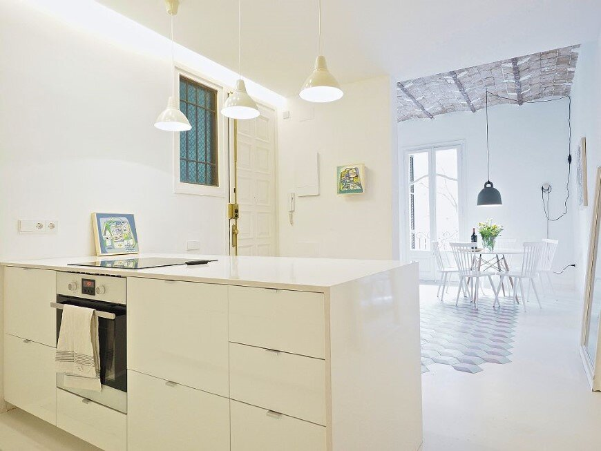 Fully renovated holiday apartment in Barcelona Tyche Apartment (2)