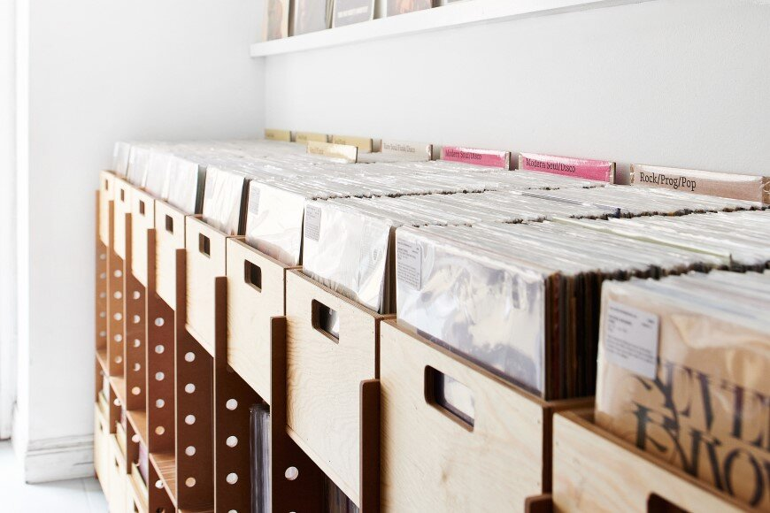 Shelving system and product design for Record Mania - Bedow Design Studio (2)