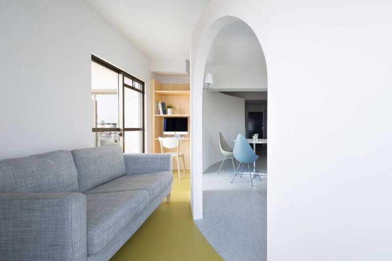Japanese interior design to create a very calm and uncluttered home (4)