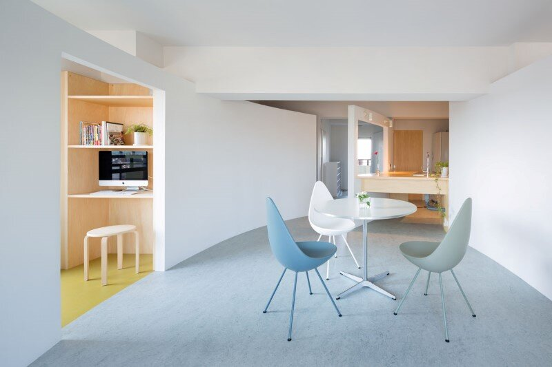Japanese interior design to create a very calm and uncluttered home (5)