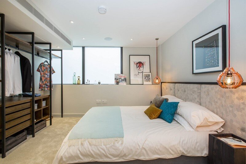Loft apartment with an industrial factory feel - Northbourne, London (11)