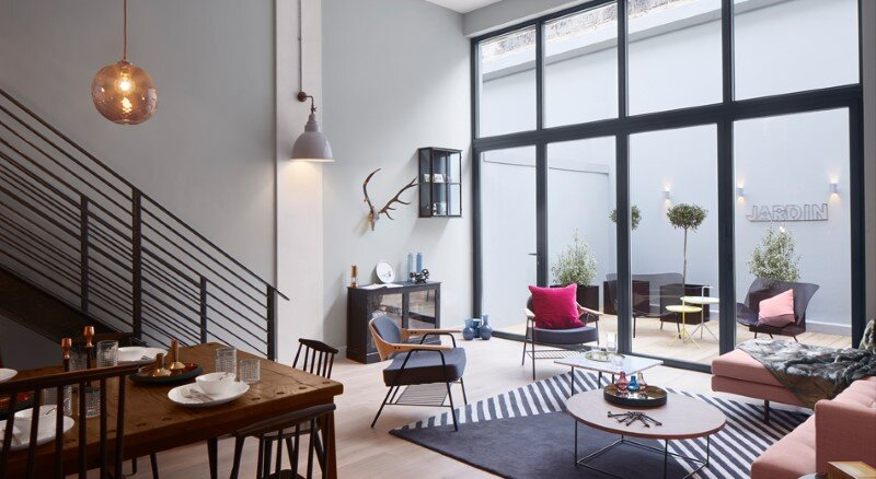 Loft apartment with an industrial factory feel - Northbourne, London (13)