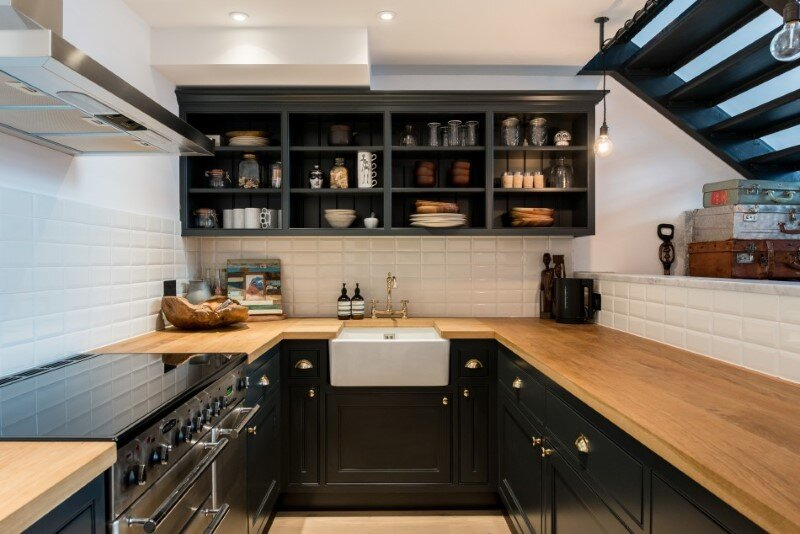 Loft apartment with an industrial factory feel - Northbourne, London (6)