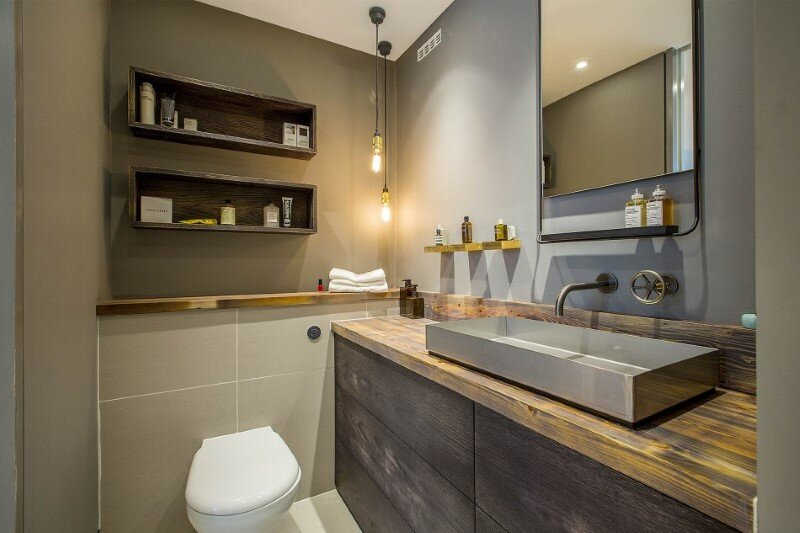 Loft apartments with an industrial factory feel - Northbourne, London (19)