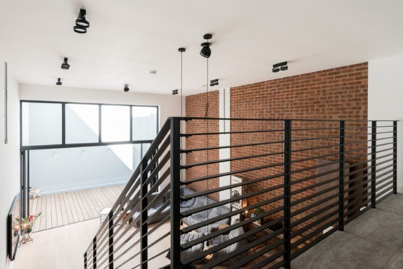 London apartments with an industrial factory feel - Northbourne, London (4)