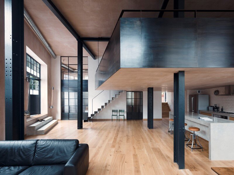 London warehouse converted into a stylish life space (7)